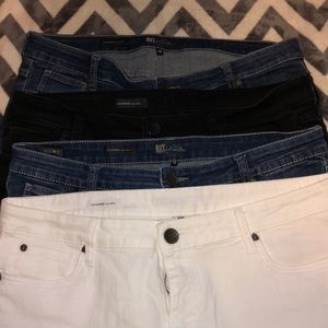 4 Pairs of Kut From The Kloth Jeans